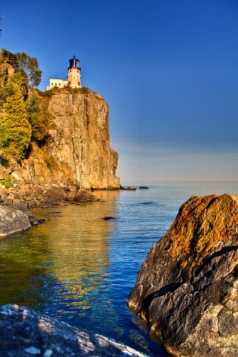 Fall Foliage at Split Rock Lighthouse
