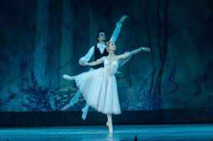 Classical Ballet with male and female dancers on stage at the DECC