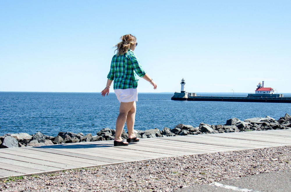Walk the Duluth Lakewalk